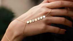 سرویس طلا Bracelet and ring combination