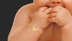 خرید طلا کادویی برای دختر بچه