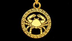 دستبند و آویز طلا با نماد ماه تیر