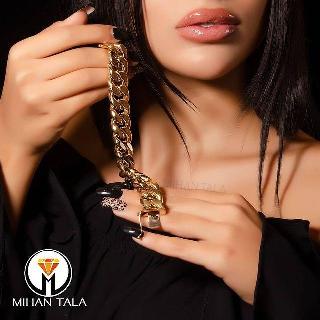 طلافروشی ارزانترین قیمت خرید طلا دستبند سرویس.. 1