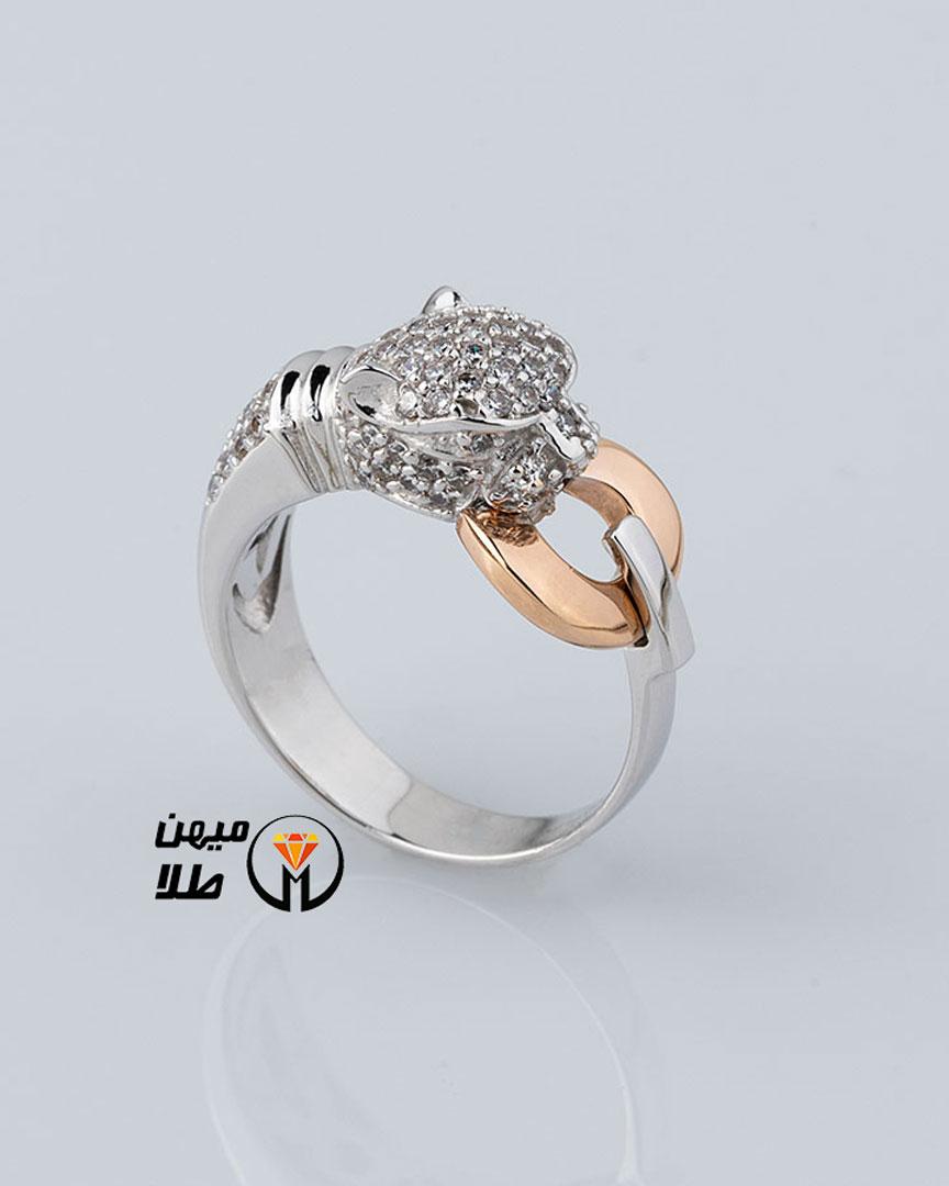 انگشتر طلا الهیه sol-93