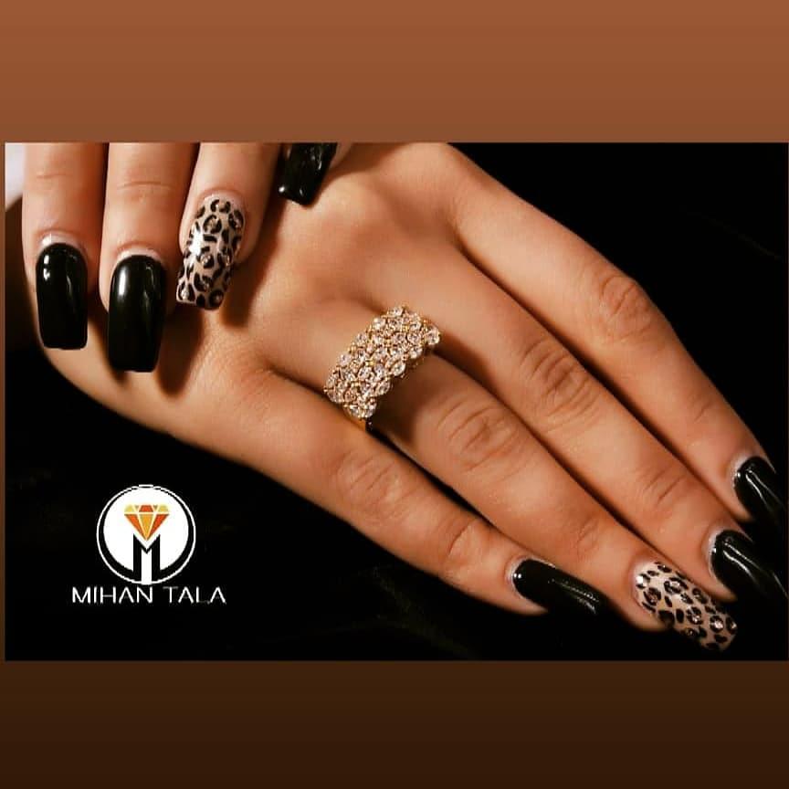 انگشتر هفت الماس