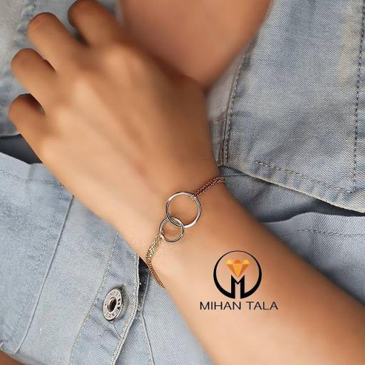 دستبند طلا نور