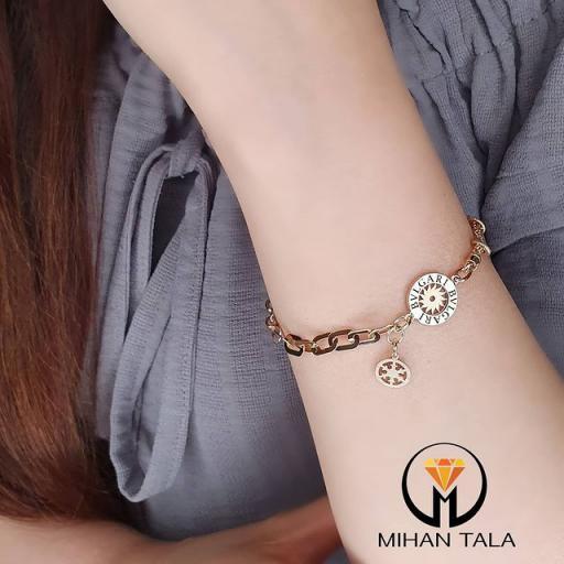دستبند طلا ام ان طرح بولگاری
