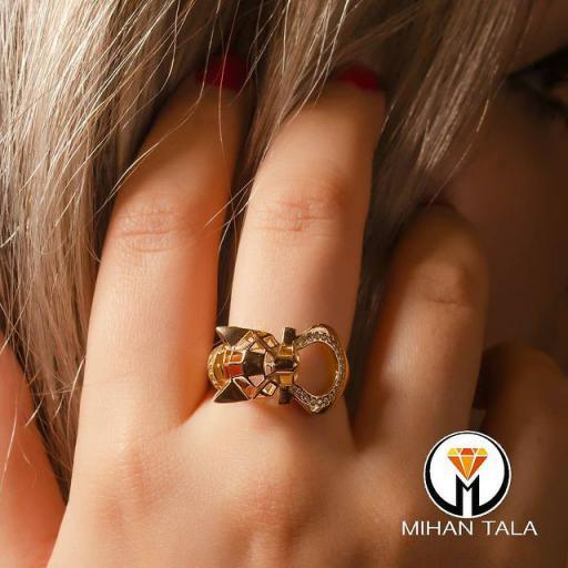 انگشتر طلا پیونیتی