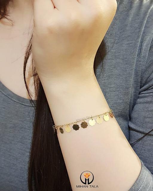 دستبند پولکی