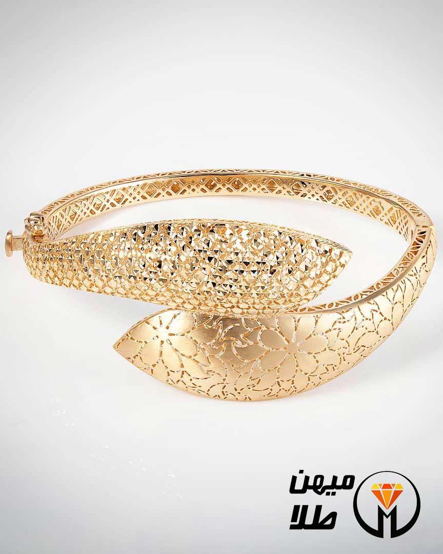 دستبند النگویی ارمیا کد TF 06