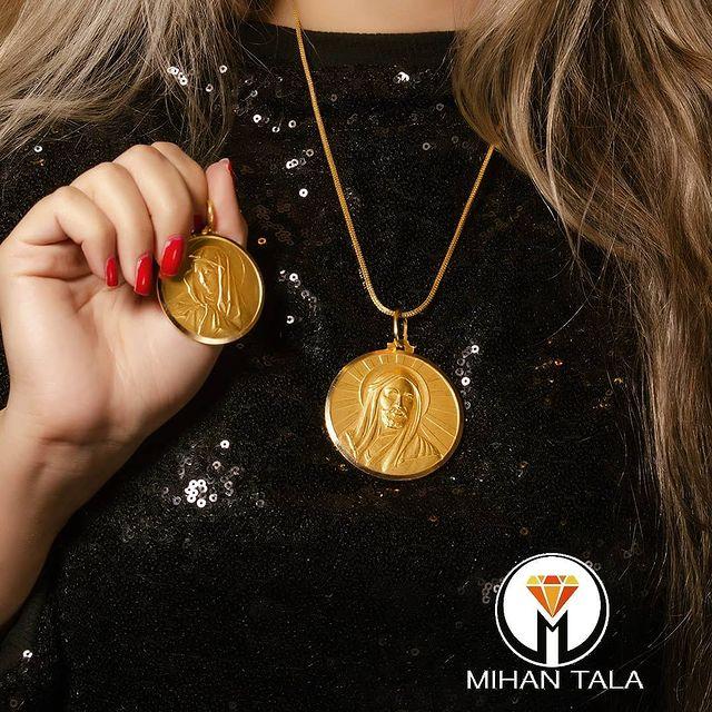 مدال طلا شمایل