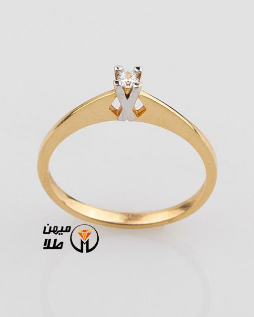 انگشتر طلا سیلوانا sol-87