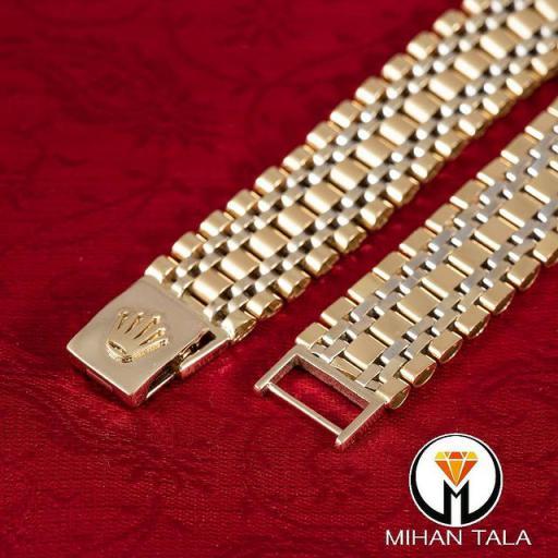 دستبند طلا رولکس