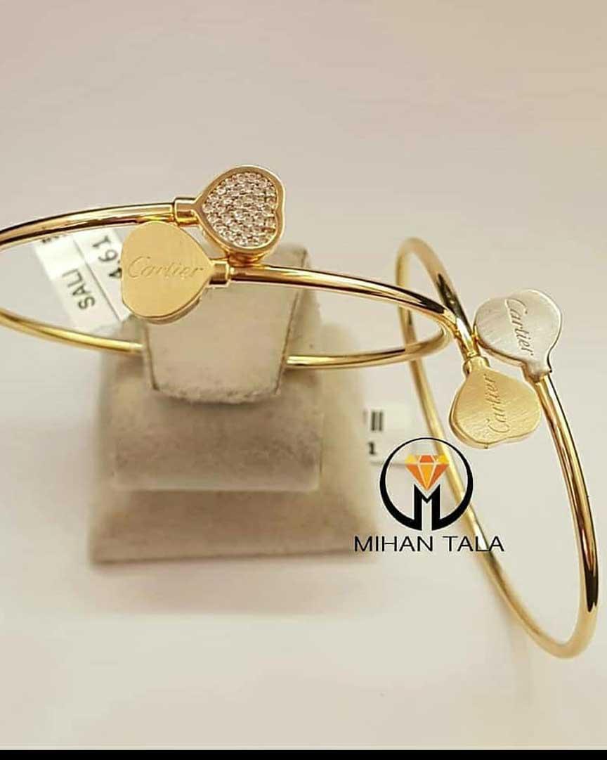 دستبند طلا سالی