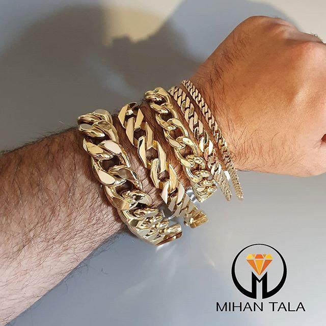 دستبند طلا کارتیه زنجیری